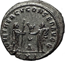 Maximian 285AD Antioch Authentic Ancient Roman Coin Hercules Jupiter i59014
