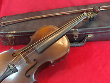 ANTIQUE STRADIUARIUS COPY VIOLIN MADE IN USA 4/4 Size ( with case & bow)