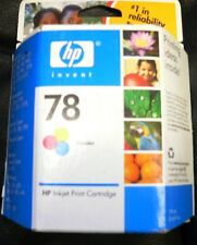New Genuine OEM HP 78 tri-color Ink Cartridge C6578DN