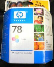 New Genuine OEM HP 78 tri-color Ink Cartridge C6578DN