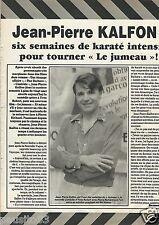 Coupure de presse Clipping 1984 Jean-Pierre Kalfon  (1 page)