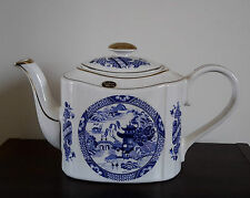 Haddon Arthur Wood Teekanne England Boston Keramik Vintage