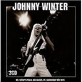 JOHNNY WINTER - MY FATHER'S PLACE OLD ROSLY NY SEPTEMBER 8th 1978 3 CD BOX SET