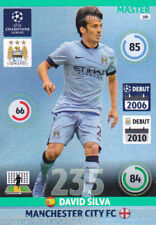 2014/15 Adrenalyn Xl Champions League Manchester City David Silva Master No. 180