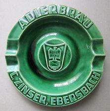 Aschenbecher ADLERBRÄU C. Zinser Ebersbach Bier Brauerei Sammler Werbung selten