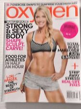 Oxygen Magazine Lori Harder Beauty Of Strength October 2015 010417RH