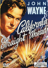 California Straight Ahead - Trucking Drama DVD - John Wayne 1937 - BRAND NEW!