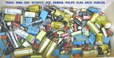 ERO-WIMA-SIEMENS-SICSAFCO-ROE-PHILIPS-ELNA Capacitors LOT