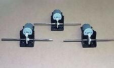 Pack of 3 x  3V - 6 VOLT WORM DRIVE GEARBOX WITH MOTOR , MODEL PROJECTS