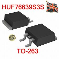 HUF76639S3S MOSFET 50a 100V 0.027 Ohm Logic Level N-Ch 76639S