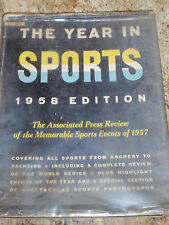 THE YEAR IN SPORTS 1958 EDITION