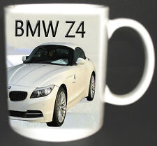BMW Z4 CLASSIC CAR MUG.LIMITED EDITION.BNIB. ADD YOUR REG NUMBER FREE OF CHARGE