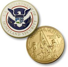 Department of Homeland Security Challenge Coin DHS September 11 2001 9/11 911