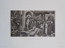1915 ECCE HOMO MAIR VON LANDSHUT alter Druck antique print Kunstdruck