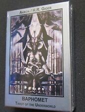SEALED H.R. Giger Baphomet Underworld Tarot Cards Deck Book Set English Edition