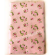 Patch Tissu Rose Liberty Laie 150cm Patchwork Confection Vêtement Sac Robe Jupe