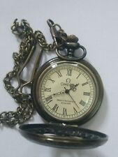 China Tibet collection of bronze sculpture machinery old pocket watch