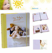 My Baby's Journal Unisex Keepsake Book, Hard Back with DividersBaby Gift
