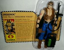 "GI Joe DREADNOK TORCH 3.75"" Action Figure 25th Anniversary"
