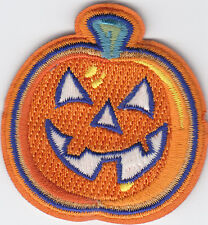 Boy Cub Girl Scouts Badge Fun Patch Badge~Glow in the Dark Pumpkin Halloween