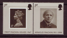 GREAT BRITAIN 2007 ARNOLD MACHIN  PAIR UNMOUNTED MINT