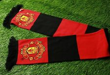 MANCHESTER UNITED england FOOTBALL FAN SCARF OFFICIAL LICENCED PRODUCT