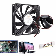 4 Pin 80mm 15mm Ventilador Cooling Cooler Fan Disipador PR Ordenador PC CPU 12V