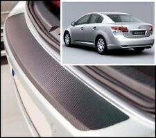 Toyota Avensis Hatchback MK3 - Carbon Style rear Bumper Protector