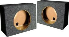 "Qpower QTW12S *Tw12* Empty Split Woofer Box Angle 12"";"