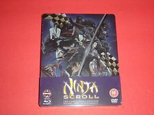 Ninja Scroll Blu-Ray + DVD UK Exclusive Limited 4,000 Steelbook Edition Region B