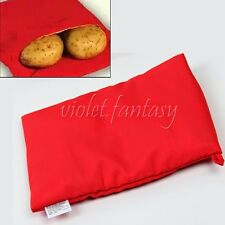 Quality Potato cooking Polyester Fabric Bag Microwave Bake Cooking Fast Easy New