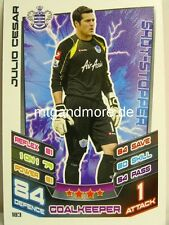 Match Attax 2012/13 Premier League - #183 Julio Cesar - QPR