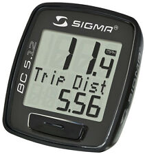 Sigma BC 5.12 Wired Bike Cyclometer Computer