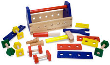 Melissa & Doug Take-A-Long Tool Kit Wooden Toy Baby Toddler Child Gift Play BNIP