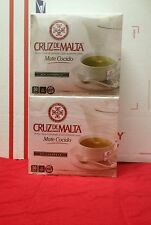 2 PACKS OF Cruz de Malta Mate Cocido -50 Mate Saquitos- Free Shipping