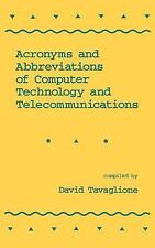 Acronyms and Abbreviations of Computer Technology and Telecommunicatio-ExLibrary