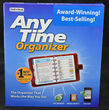 Anytime Organizer Deluxe Version 14 Contact Manager Calendar PC Software