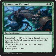 MTG BFZ Battle For Zendikar VO 4 X Retreat to Kazandu U