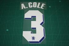 Chelsea 11/12 #3 A. COLE UEFA Chaimpons League / FA Cup Final Nameset Printing