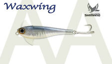 "Shimano Waxwing Lure 68mm Ghost Blue Shad 2.7"" 1/2oz WW068HB"