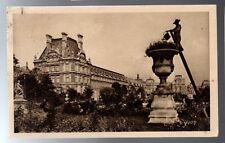 CPA 75 PARIS le pavillon de marsan au jardin des tuileries