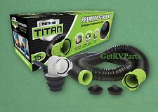 Thetford Titan Premium RV Black Water Sewer Hose Kit 15 Foot