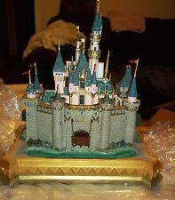 Disney Big Fig Med Disneyland Sleeping Beauty Castle Figurine-Long Sold Out NIB