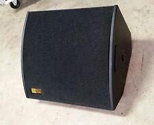 "Powered 15""x2"" Wedges Active coax 600W RMS / Floor Monitor"
