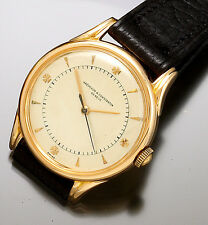 18K Pink/Rose Gold Vacheron Constantin Automatic Wrist Watch