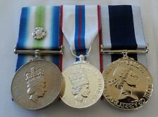 Court Mounted Full Size Medals, Falklands S Atlantic, Silver Jubilee, Navy LSGC
