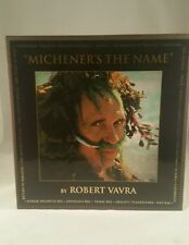 """Michener's The Name"" by Robert Vavra Signed By Robert Vavra #3 Of 100"
