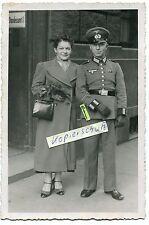 Portrait-Foto : Deut. Soldat mit Band 1936 Spanien 1939 bei der Hochzeit im 2.WK