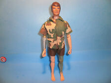 Vintage 1975 GI Joe Atomic Action Man Mike Powers Adventure Team Bionic Hasbro