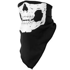 Pop Good Quality Skull Skeleton Neck Warmer Mask Bandana Bike Motorcycle FG UK
